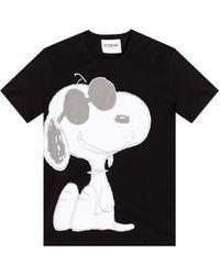 Iceberg Snoopy T-shirt - Black