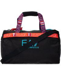 EA7 Holdall Bag With Logo - Black