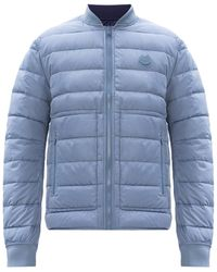 KENZO Reversible Quilted Jacket Blue