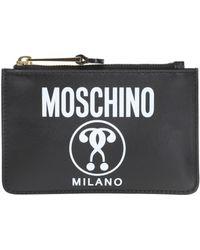 Moschino - Logo Pouch - Lyst