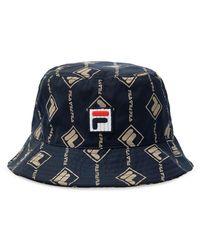 Fila Logo Hat Unisex Navy Blue