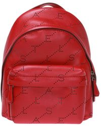 fdb166a5e2a4 Michael Kors Rhea Mini Perforated Leather Backpack in Pink - Lyst