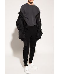 PS by Paul Smith Joggers With Numerous Pockets Black