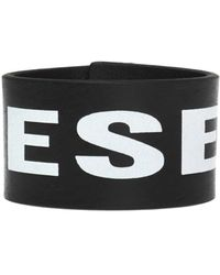 DIESEL Branded Bracelet Black