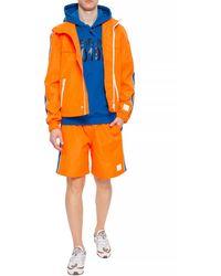 DIESEL Shorts With Logo Orange
