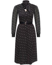 MICHAEL Michael Kors Dress With Logo Black