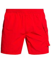 Y-3 Shorts With Logo - Red