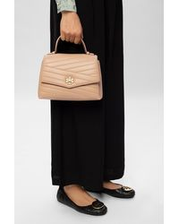 Tory Burch Kira Chevron Top-handle Satchel - Black