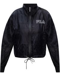 Fila Jacket With Logo Black
