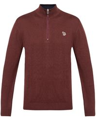 PS by Paul Smith Jumper With Logo - Brown