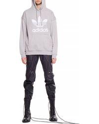 adidas Originals Adicolor Trefoil Hoodie - Grey