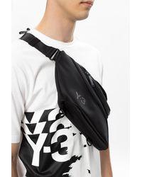 Y-3 Branded Belt Bag Black