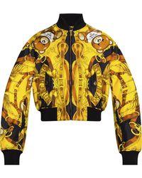 Moschino Bomber Jacket - Yellow