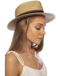 Saint Laurent Raffia Hat - Natural