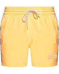 adidas Originals Shorts With Logo Orange