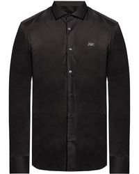 Philipp Plein Shirt With Logo - Black