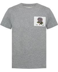 Kent & Curwen Rose T Shirt Grey