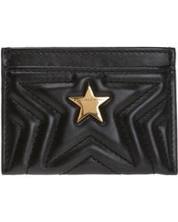 Stella McCartney Quilted Card Case - Black