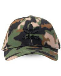 adidas Originals Branded Baseball Cap Unisex Green