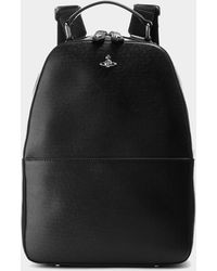 cc8ed299aa Vivienne Westwood Amazon Leather Backpack in Black for Men - Lyst