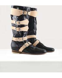 Vivienne Westwood Pirate Boot - Black