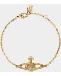 Vivienne Westwood - Mini Bas Relief Chain Bracelet - Lyst