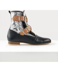 Vivienne Westwood Seditionaries Boots - Metallic