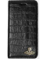Vivienne Westwood Iphone 7/8 With Flap - Black