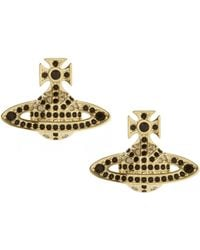 Vivienne Westwood | Jack Bas Relief Earring Gold Plated | Lyst