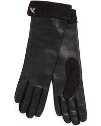 Vivienne Westwood - Orb Gloves 82020002 Black - Lyst