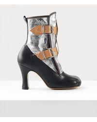Vivienne Westwood Bondage Boots - Metallic