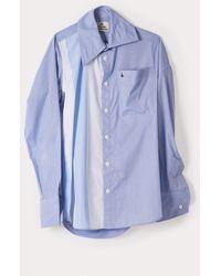 Vivienne Westwood Lottie Shirt Plain - Blue