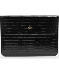 Vivienne Westwood Macbook Case 13 - Black