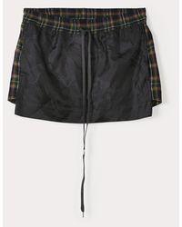 Vivienne Westwood Boxer Mini Skirt Black/ - Blue