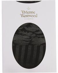 Vivienne Westwood - Ballet Russe Cylinder Tights Black - Lyst