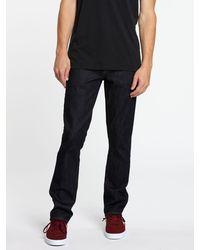 Volcom Rta Slim Fit Jeans - Black