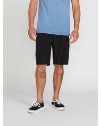 Volcom Kerosene Hybrid Shorts - Black