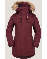 Volcom Shadow Insulated Jacket - Red