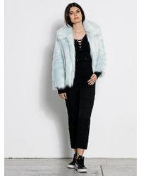 Volcom - Gmj Fur Coat - Cool Blue - L - Lyst