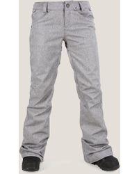 Volcom Species Stretch Pant - Black - L - Gray