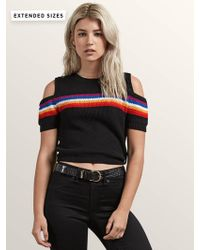Volcom Rainbo Flite Sweater - Black - L