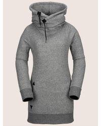 Volcom Tower Pullover Fleece - Gray