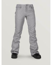 Volcom Womens Species Stretch Pants - Gray