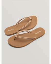 Volcom Forever And Ever Ii Sandals - Brown