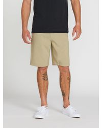 Volcom Kerosene Hybrid Shorts - Natural