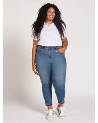 Volcom Liberator High Rise Jeans Plus Size - Blue