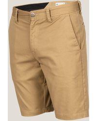 Volcom - Frickin Mod Stretch Shorts - Lyst