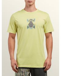 dc471b90 Under Armour Digi Woodland Camo Compression S/S Tee in Green for Men ...