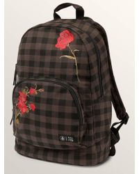 Volcom - Schoolyard Canvas Backpack - Dark Chocolate - O/s - Lyst