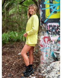 Volcom Coco Twill Blazer - Yellow